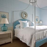 blauwe muur, Meubels Ideeën